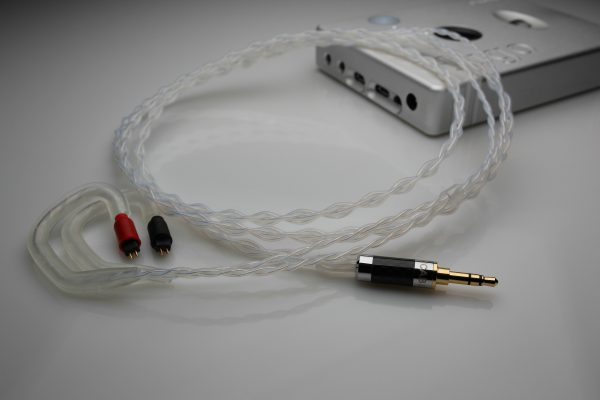 Reference pure Silver Pears SH-2 SH-3 upgrade cable by Lavricables