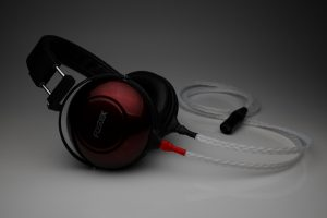 Grand 20 core pure Silver Fostex TH900 mk2 TH-900 TH-909 headphone upgrade cable by Lavricables