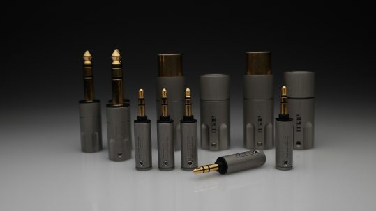 AECO AT6-1231G TRS 6.3mm 3.5mm balanced XLR 1060 plugs for pure silver cables by Lavricables