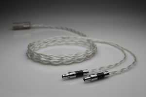 Grand pure Silver Sennheiser HD800 HD800s HD820 multistrand litz awg20 headphone upgrade cable by Lavricables