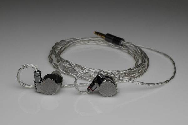 Ultimate pure silver awg24 multistrand litz Sony IER Z1R IER-M9 IER-M7 iem mmcx upgrade cable by Lavricables