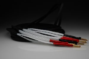 Master 20 core pure solid Silver speaker cables by Lavricables
