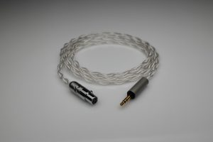 Master pure Silver Beyerdynamic DT1770 DT1990 multistrand litz awg22 headphone upgrade cable by Lavricables