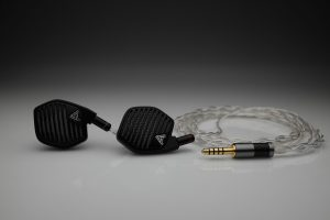Master Silver Audeze iSine LCD-i3 LCD-i4 iSine 10 20 LCDi3 LCDi4 multistrand litz awg22 iem upgrade cable by Lavricables