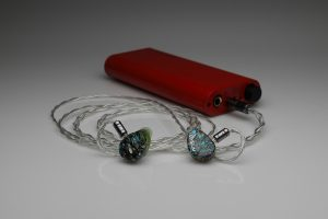 Master pure silver awg22 multistrand litz 64 Audio InEar StageDiver Noble Audio EarSonics Vision Ears Unique Melody iem 2 pin upgrade cable by Lavricables