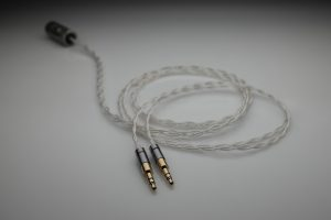 Master pure Silver Rosson Audio Design RAD-0 multistrand litz awg22 headphone upgrade cable by Lavricables