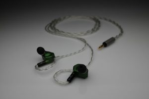 Ultimate pure Silver multistrand litz Final A8000 A-8000 mmcx iem upgrade cable by Lavricables