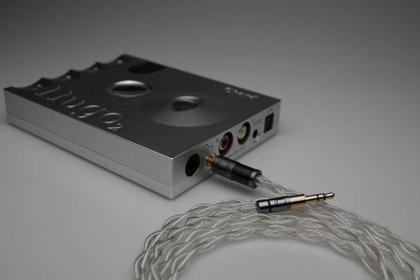Ultimate pure Silver Oppo PM3 multistrand litz awg25 headphone upgrade cable by Lavricables