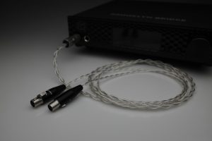 Master pure Silver awg22 multistrand litz HEDD Audio HEDDphone headphones upgrade cable by Lavricables