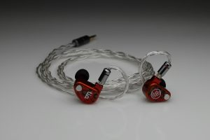 Ultimate pure silver awg24 multistrand litz 64 Audio InEar StageDiver Noble Audio EarSonics Vision Ears Unique Melody iem 2 pin upgrade cable by Lavricables