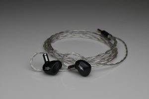 Ultimate pure silver awg24 multistrand litz Sony IER-Z1R ier Shure 846 Westone Xelento Campfire Astell&Kern EUCLID Rai Penta iem mmcx upgrade cable by Lavricables