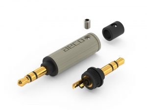 AECO AT6-1231G TRS 6.3mm AT3-1331G 3.5mm balanced XLR 1060 plugs for pure silver cables by Lavricables