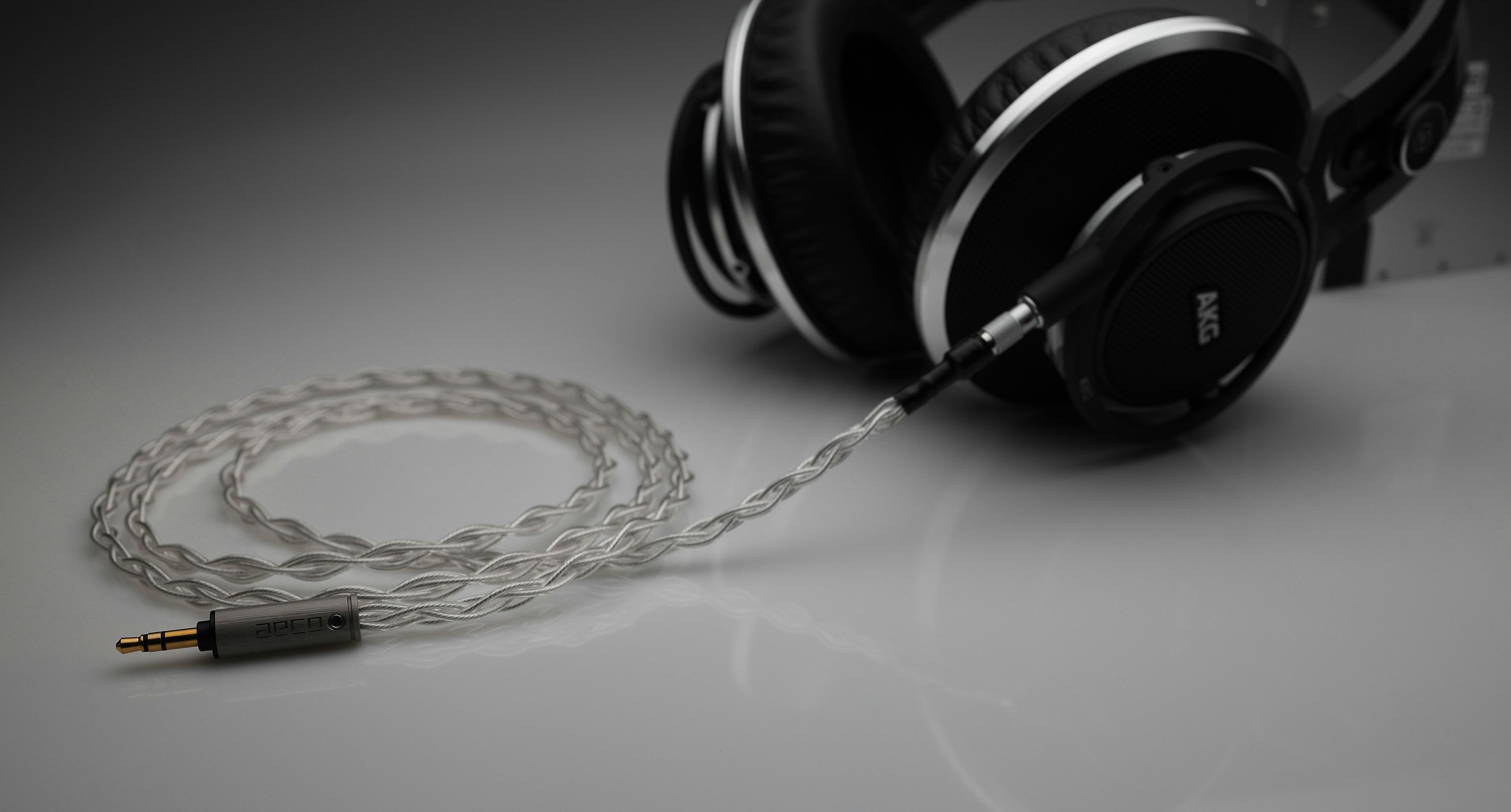 Master AKG 812 pure silver awg22 cable
