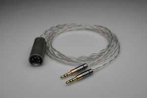 Master pure Silver Spirit Torino Super Leggera Radiante multistrand litz awg22 headphone upgrade cable by Lavricables