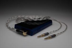 Master pure Silver Spirit Torino Super Leggera Radiante multistrand litz awg22 headphone upgrade cable by Lavricables