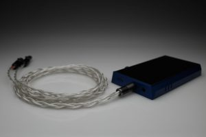 Grand pure Silver awg20 multistrand litz Audeze iSine LCD-i3 LCD-i4 iSine 10 20 LCDi3 LCDi4 iem upgrade cable by Lavricables