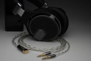 Grand pure Silver awg20 multistrand litz Quad ERA-1 headphone upgrade cable by Lavricables