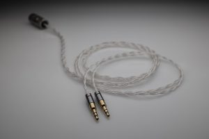 Ultimate pure Silver Audeze LCD-1 LCD1 multistrand litz awg25 headphone upgrade cable by Lavricables