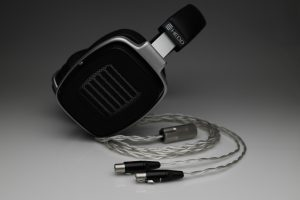 Grand pure Silver awg20 multistrand litzHEDD Audio HEDDphone headphone upgrade cable by Lavricables