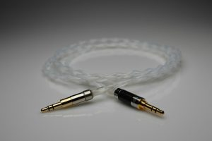 Reference pure Silver Hifiman Deva headphone upgrade cable by Lavricables