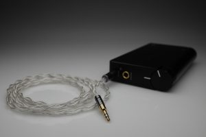 Master pure Silver Hifiman HE-R10D HE-R10P multistrand litz awg22 headphone upgrade cable by Lavricables