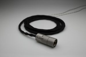 Ultimate pure Silver multistrand litz awg25 Ultimate Ears UE 6 PRO UE LIVE ipx iem upgrade cable by Lavricables