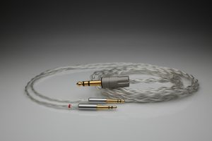 Grand pure Silver awg20 multistrand litz SONOROUS X SONOROUS VIII D8000 D8000 Pro Edition headphone upgrade cable by Lavricables