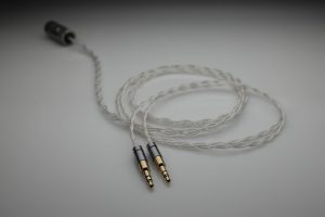 Ultimate pure Silver GoldPlanar Gold Planar GL2000 multistrand litz awg24 headphone upgrade cable by Lavricables